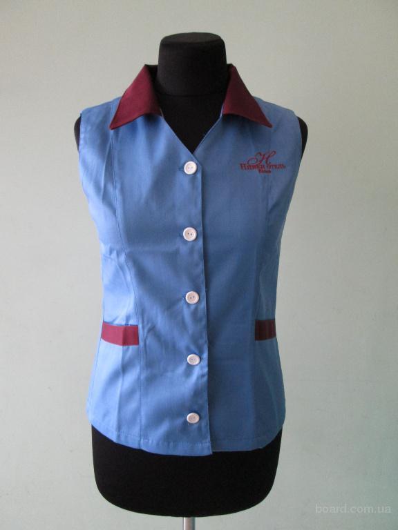 униформа для уборщиц,клининг-костюм,безрукавка и брюки