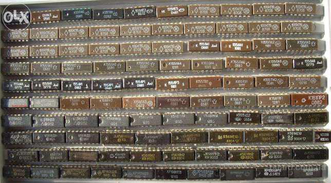 Куплю неликвиды микросхем в пластмассовом и керамическом корпусе