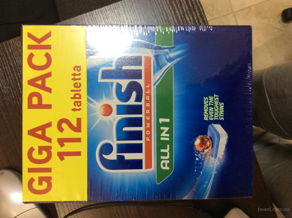 Таблетки Finish Giga Pack 112 шт.