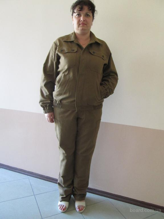 костюм рабочий с диагонали,куртка и брюки рабочие,спецодежда