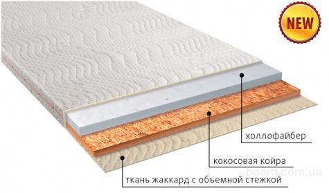Серия тонких безпружинных матрасов со склада в Крыму