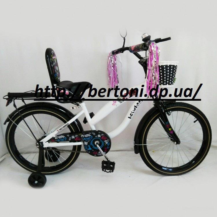 Велосипед двухколесный hotwheel 20