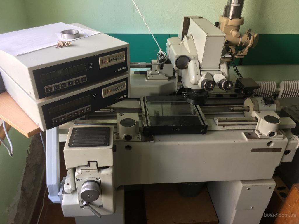 Двух координатный измерительный прибор (микроскоп) ДИП-1 ЛОМО.