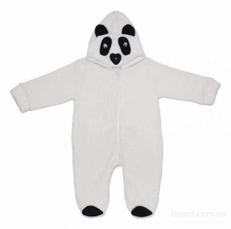 """Комбинезон для новорожденных """"Панда"""" ( рост 80) Теплый и очень мягкий махровый комбинезон для новорожденного малыша от 6 до 12 месяцев. Хорошо пошит и"""