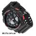 Купить.Наручные часы Касио Джи Шок, спортивные мужские часы Casio G-Shock (черно-красные)280