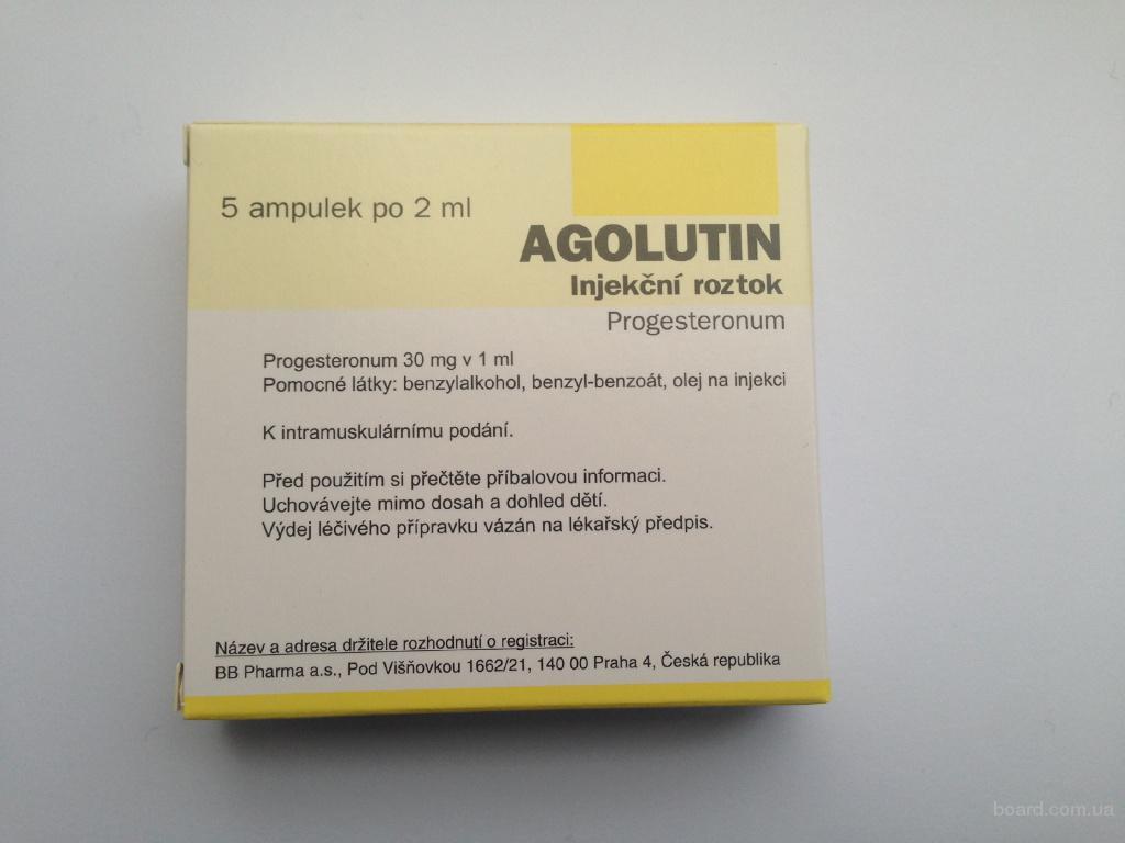 Аголютин 5X2ML/60MG