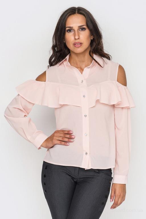 Блузка с воланами на плечах в интернет магазине Moda Style