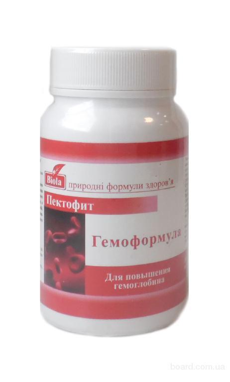 Гемоформула пектофит для повышения гемоглобина