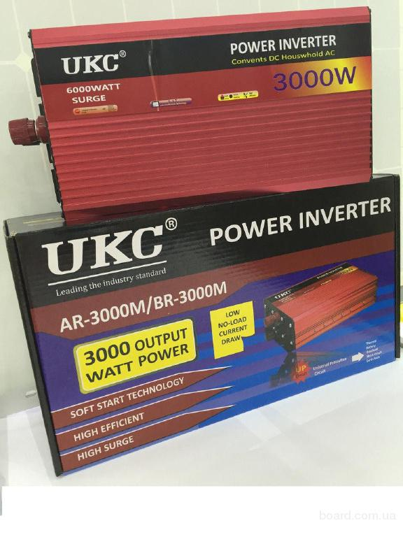 Преобразователь 12в-220в UKC DP-3000W