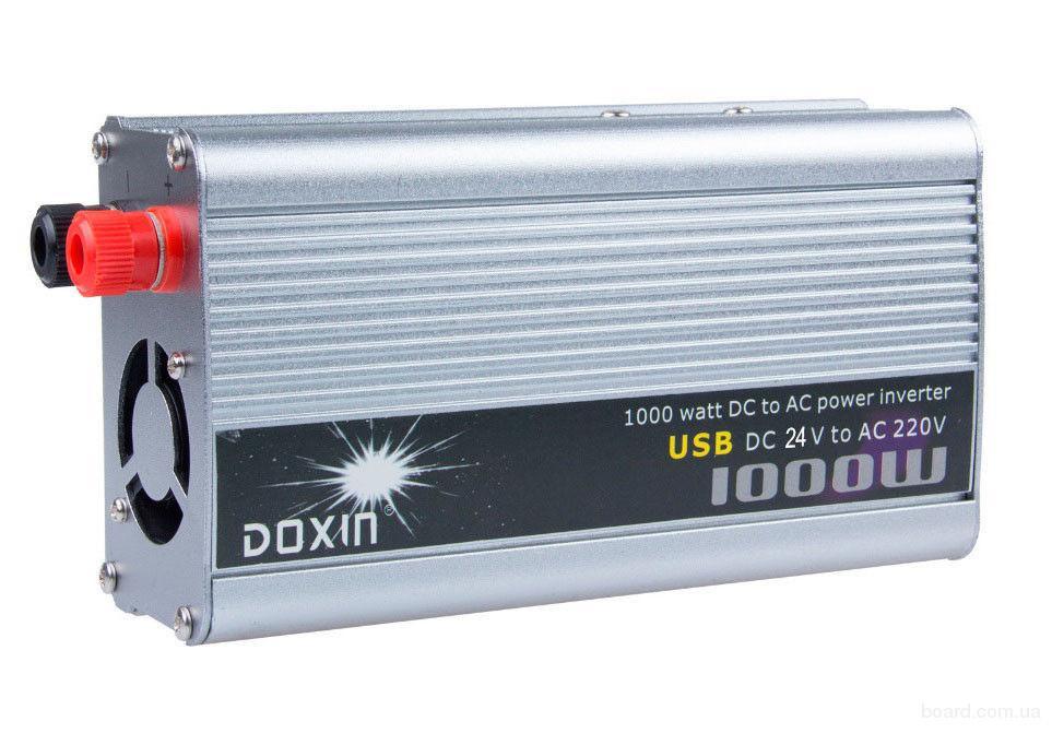 Преобразователь 24V-220V 1000W