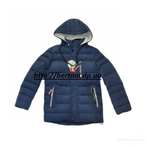 Зимняя куртка для мальчика kiko 4236Б
