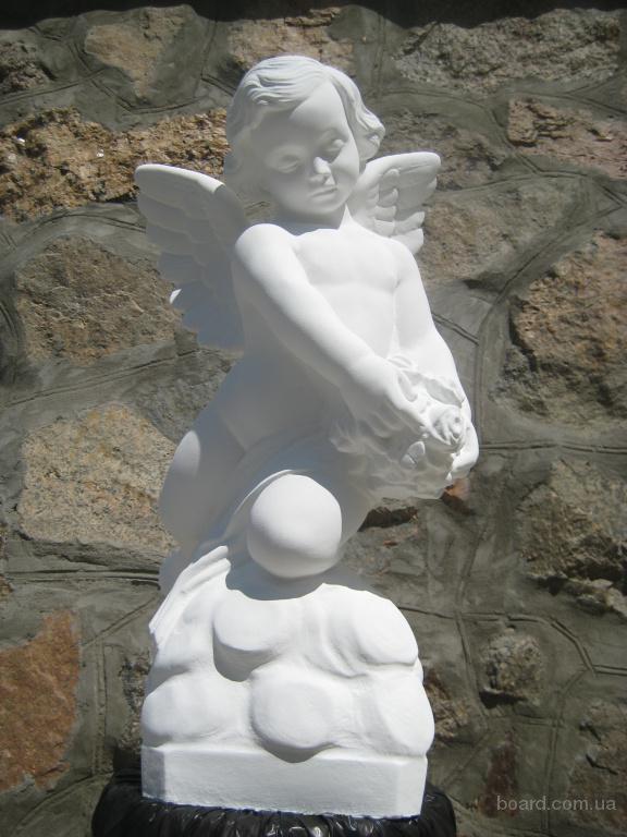 Скульптура ангела для детского памятника