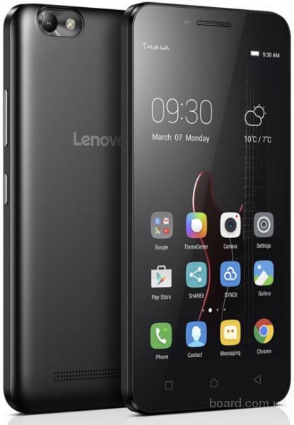 Смартфон Lenovo Vibe С (A2020) Black, оплата частями, без %