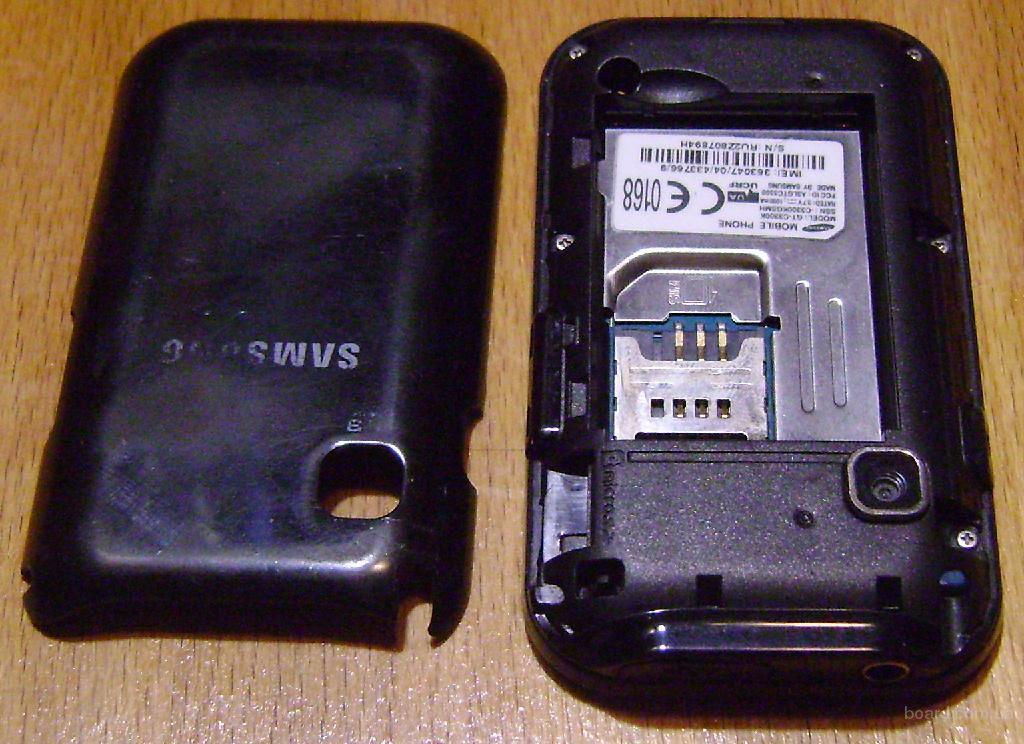 Нерабочий сенсорный смартфон Самсунг
