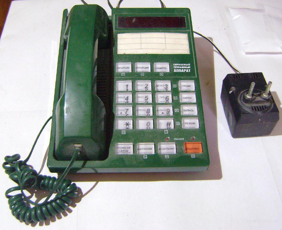 Рабочие и нерабочие стационарные, радио- и CDMA-телефоны
