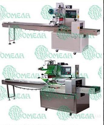 Горизонтальная упаковочная машина флоу-пак 051.55.01.250/320/350/450/600