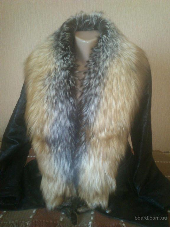 Натуральная кожаная куртка и мех лиса куртки с меховым воротником кожаные куртки