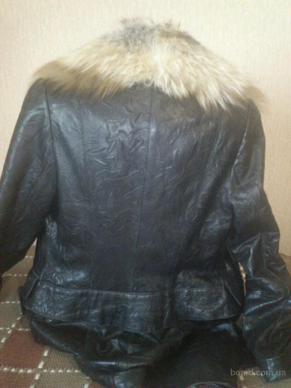 Натуральные кожаные куртки