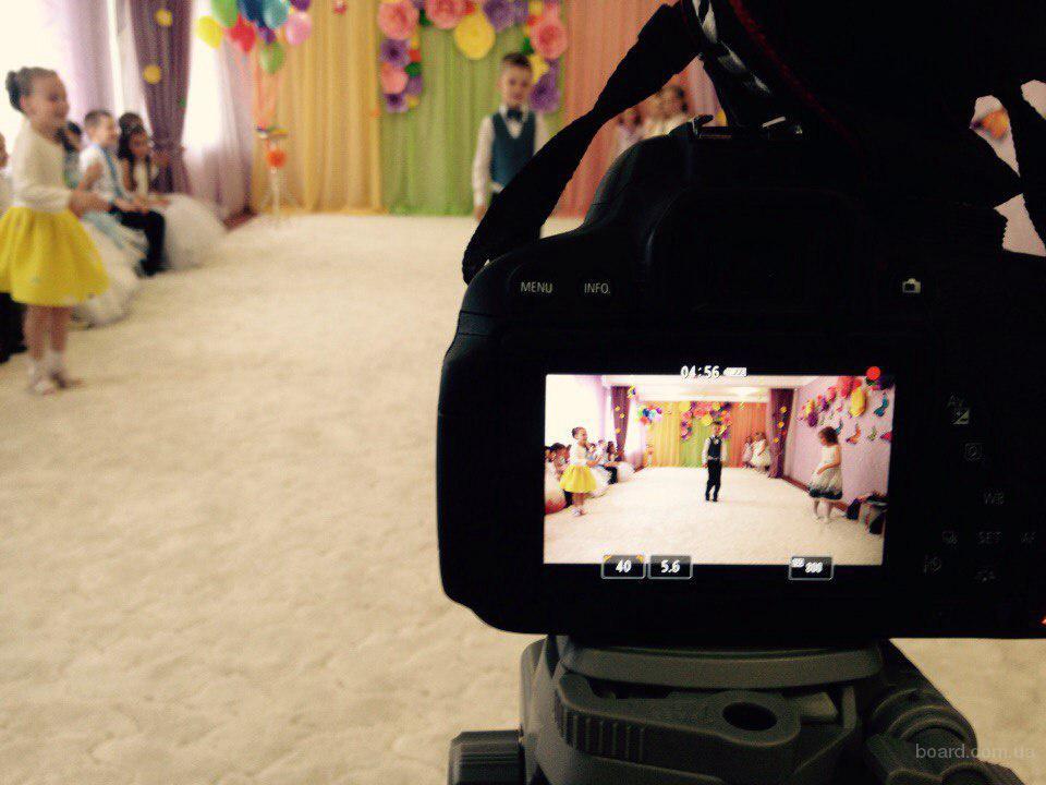 Услуги видеосъёмка, фотограф. Детский фотограф и видеооператор