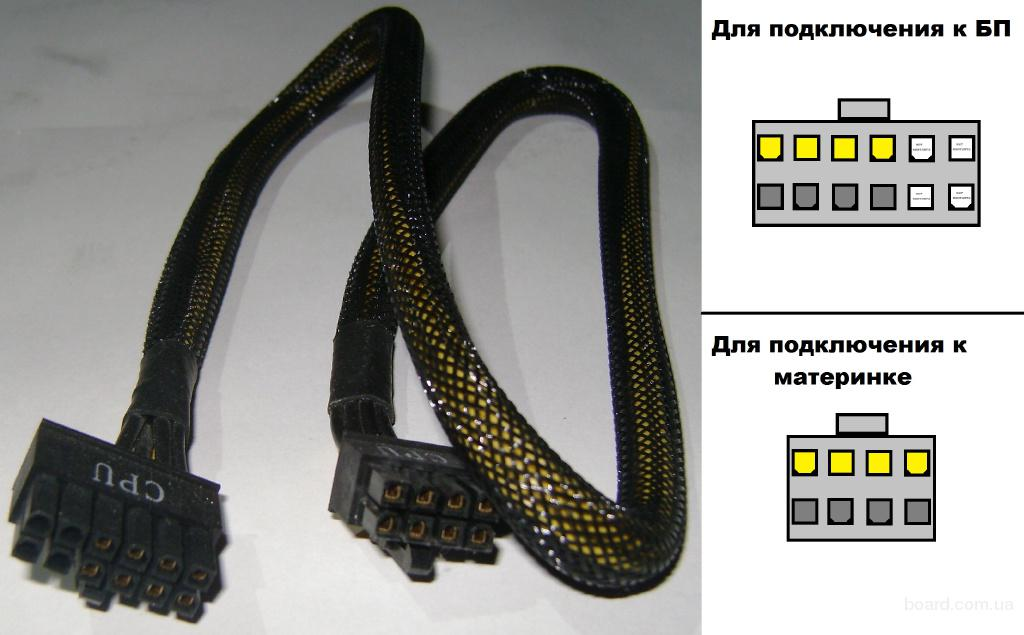 Модульный кабель CPU 8pin для блока питания