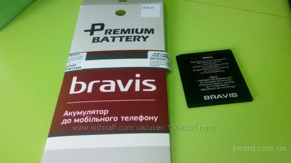 АКБ Bravis Solo (1400 mAh) 100%  Bravis Solo Bravis Alto Бравис Соло Акумуляторная батарея 100% оригнал  Подбор аксессуаров, чехлы, защитные стекла, п
