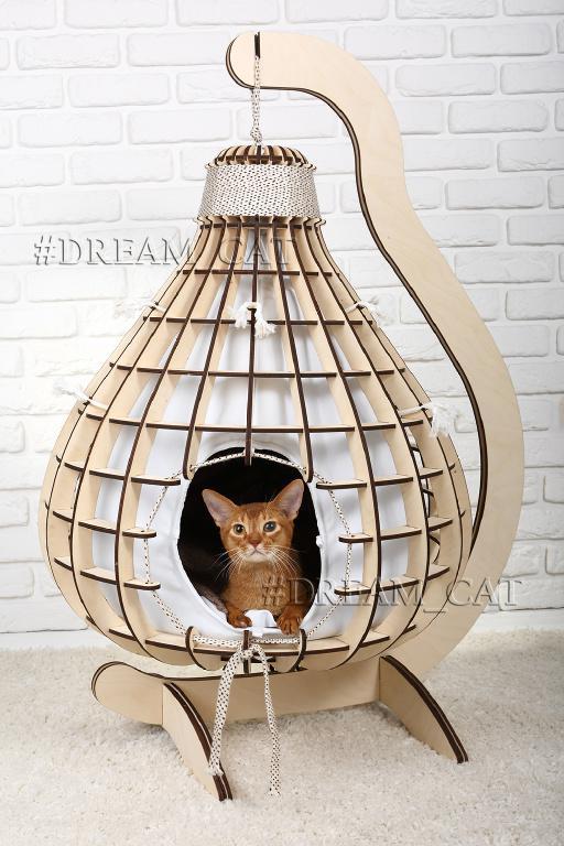 Домики для кошек и котов Груша