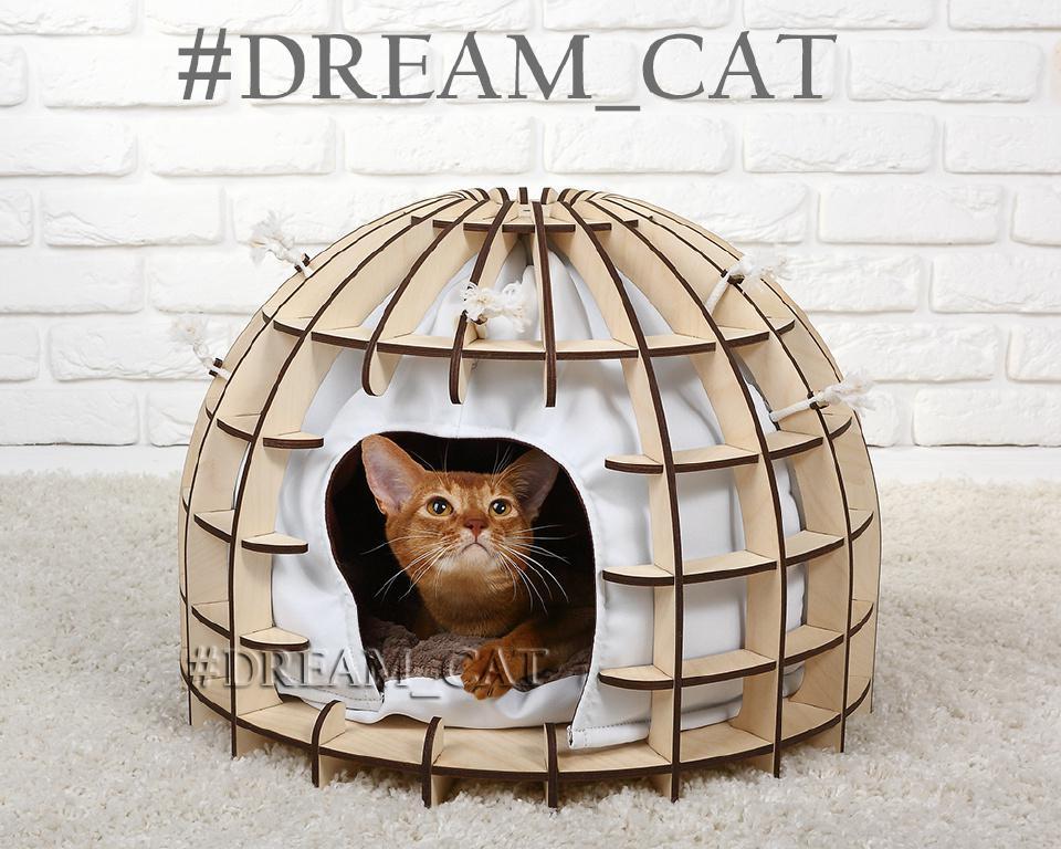 Домики для кошек и котов ЗУЛУ