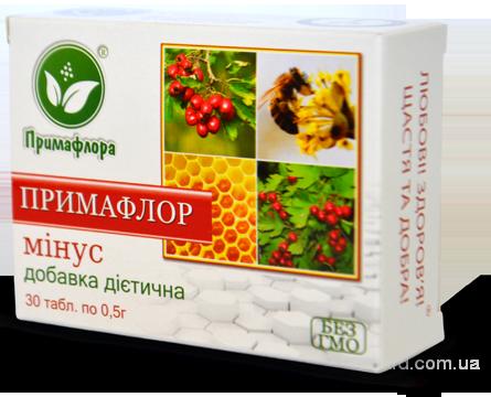 Примафлор-минус – супер помощь вашей сердечно-сосудистой с-ме