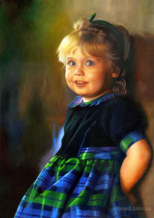 портретная живопись на заказ в Харькове