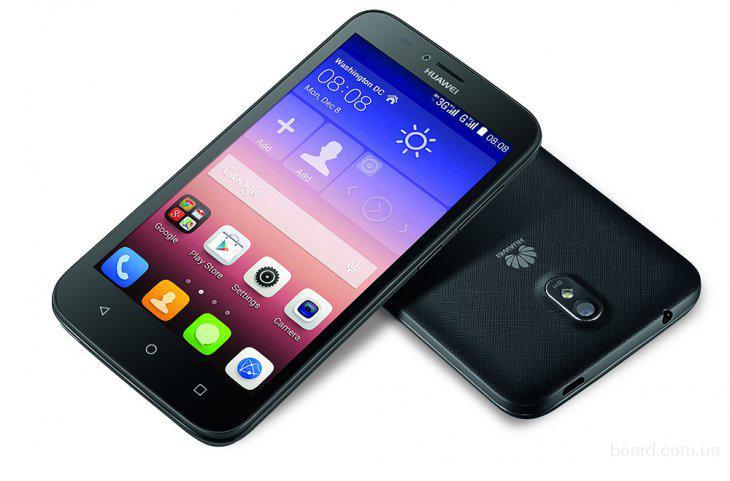 Смартфон Huawei Y625 Black, в рассрочку без %