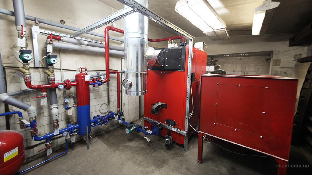 Монтаж систем отопления в Киеве. Качественно и быстро