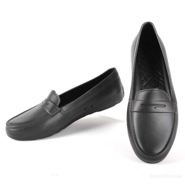 Женские туфли мокасины для слякоти и дождя пена эва