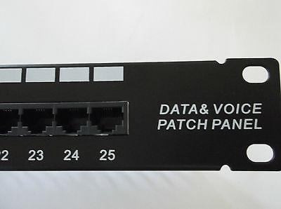 "Patch Panel ISDN (Telephone) Cor-X, 19 "", 1U, 25 ports RJ-45"