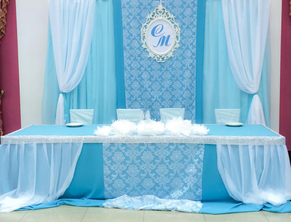 Украшение свадебного зала, оформление выездной церемонии.