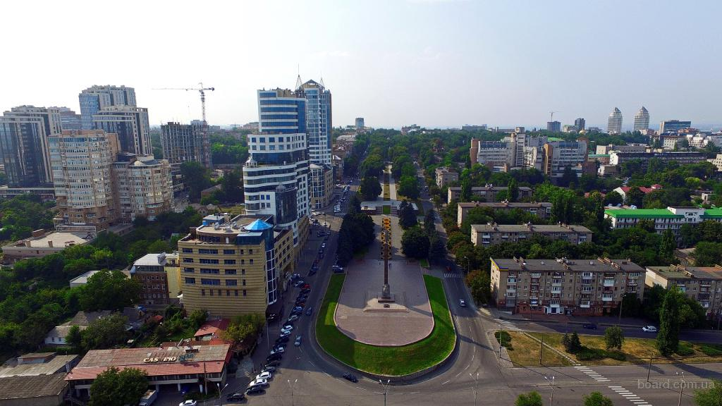 Аэросъёмка в Днепропетровске