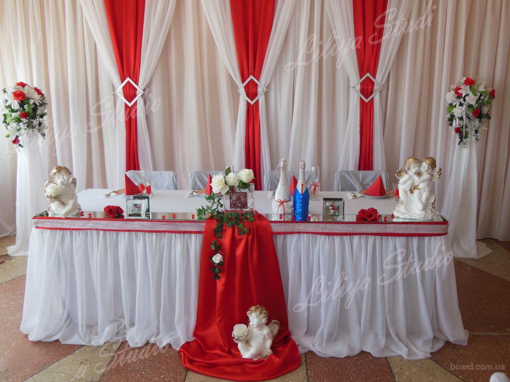 Свадебный декор, флористика и все для украшения зала