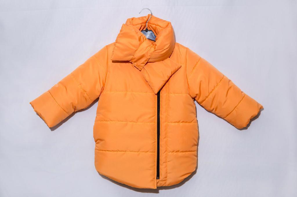 """Зимняя куртка для мальчиков и девочек """"Orange heat"""""""