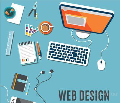Дизайн, верстка и разработка сайта