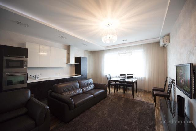 Аренда 4к  квартира VIP уровня в ЖК Оазис, Оболонские Липки,