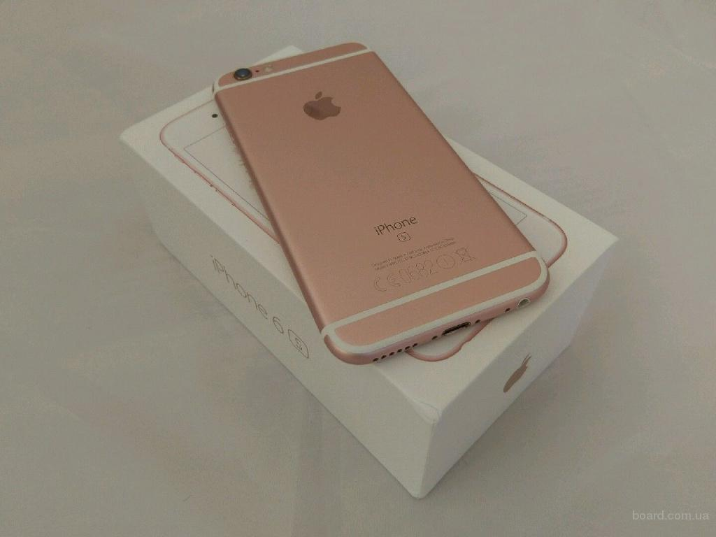 Apple, iPhone 64GB Desbloqueado 6S Nueva oro rosa