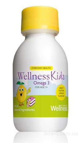 Рыбий жир (Омега 3) детский Wellness