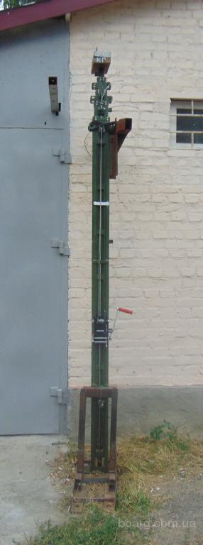 Мачта телескопическая унифицированная МТУ-10м4 для WiFi.