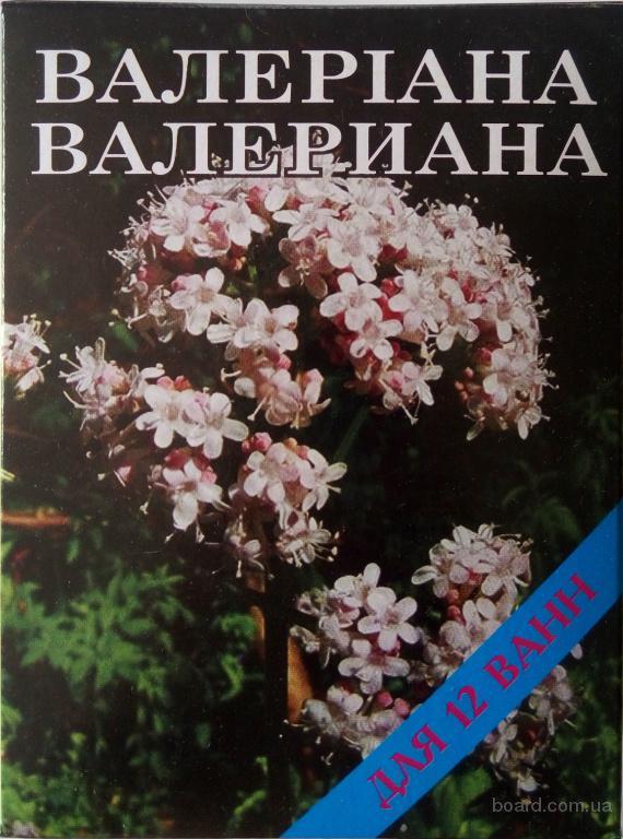 Лечебная соль для ванн «Валериана» (500 грамм для 12 ванн)