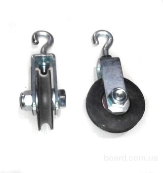 Ролик подвесной центральный с подшипником ( Диаметр 60 мм)