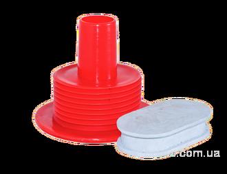 Для адаптации сантехнического пластикового бачка для поения птицы