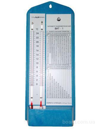 Гигрометр психрометрический ВИТ-1 (для измерения относительной влажности воздуха и температуры )