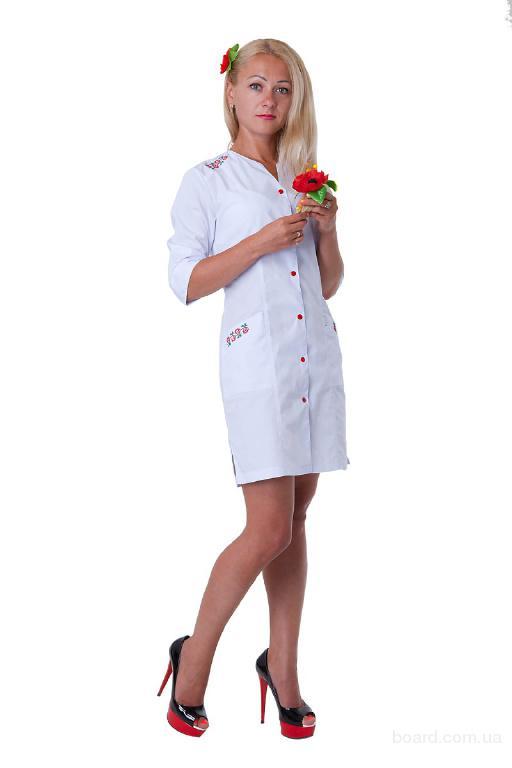 Медицинские халаты, костюмы