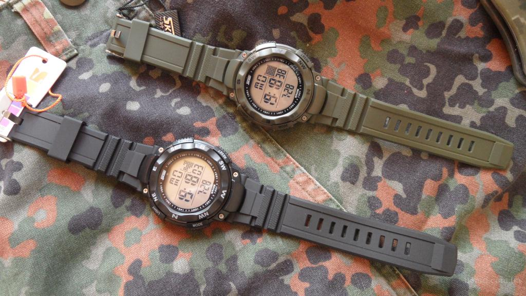 Милитари часы Skmei 1024