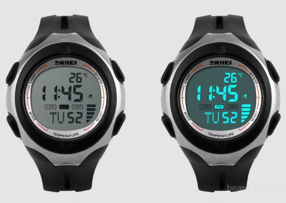Спортивные часы SkmeiI 1080 с датчиком температуры!