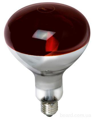 Инфракрасная лампа R125 красная Z 175Вт